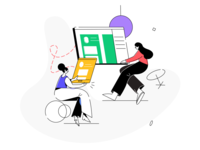 Designing UIUX Illustration