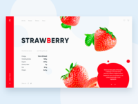 Strawberry Daily UI ❤️
