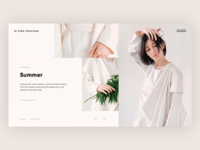 Lookbook Page Free PSD