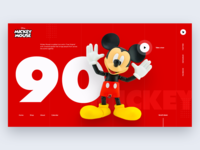 Mickey Mouse Daily UI