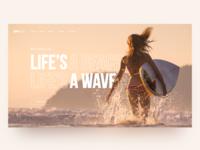 Surf School Daily UI