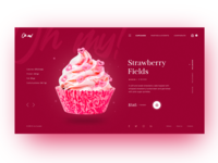 Cupcake Store Homepage Concept