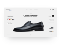 Handmade Shoe Store Product Page