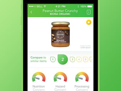 EWG Food for iOS ios iphone green food ewg database