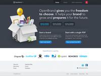 OpenBrand teaser site