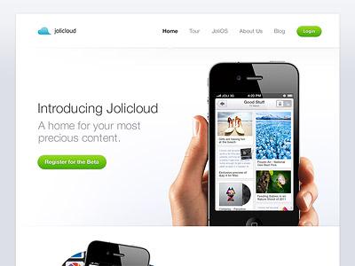 Jolicloud website