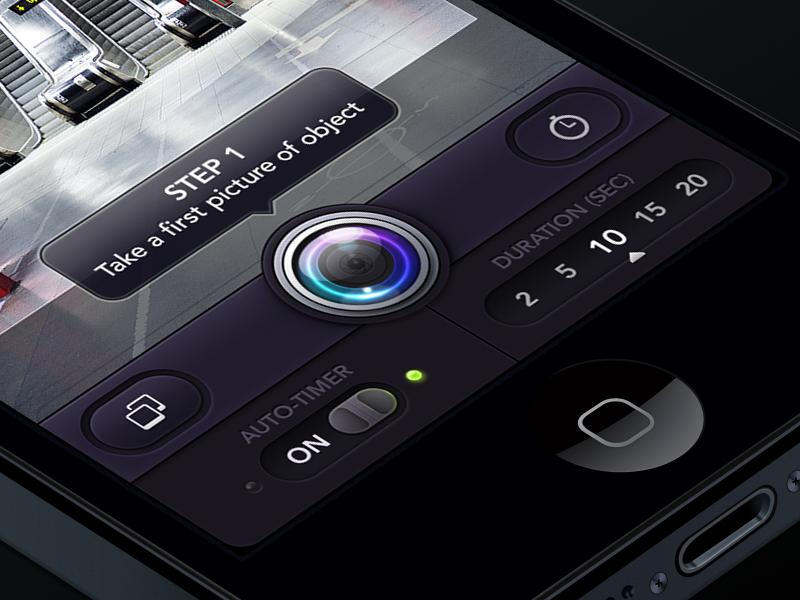 Photo App ios iphone settings slider switch