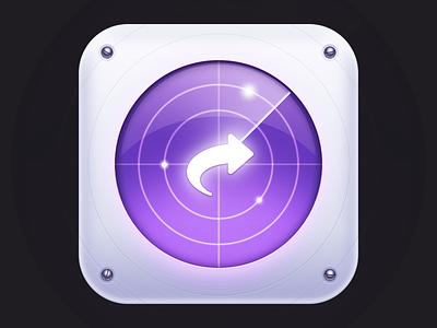 Instashare Icon ios iphone icon radar