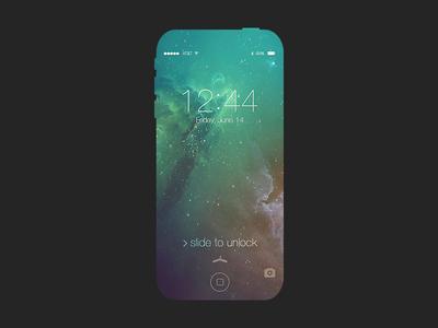 iPhone 5x Concept iphone iphone 5 iphone 5c iphone 5s 5s 5c ios 7