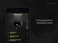 Tuning Preset - Drum Definition Menu [Drumtune PRO]