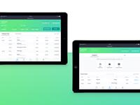 Edison Bank iPad App - My Accounts & Transfer Money