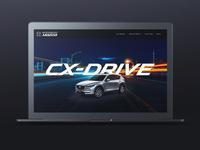 Hero Image Design for Wanneroo Mazda