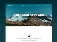 'Peaks' Digital Agency Template