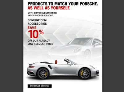Porsche Email Marketing Ad