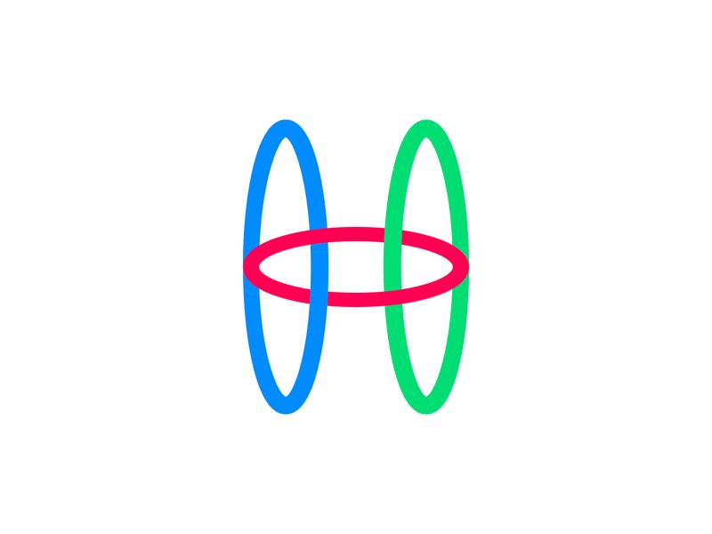 'Hula' Lettermark concept