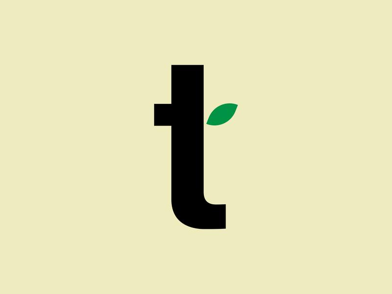 Tea Leaf Lettermark