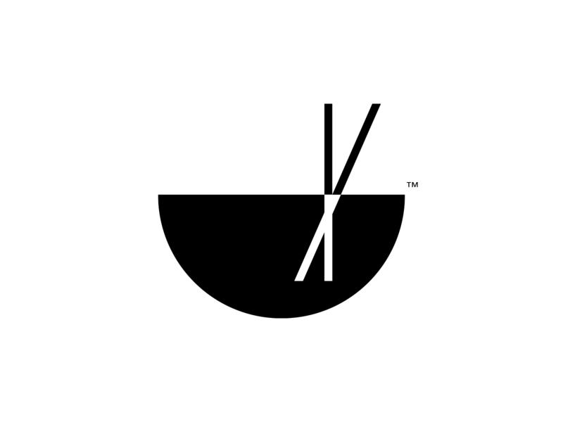 Chopsticks logo concept
