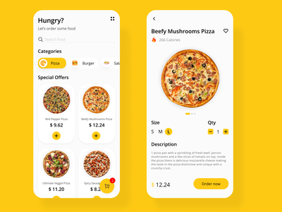 Food App design exploration black yellow foodservice foods figma app apps design mobile ui ux uiuxdesign mobileui design ui design ui
