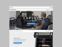 Carvey Product Page