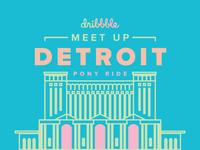 Detroit Dribbble Meetup
