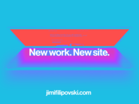 New Work and Website it live!