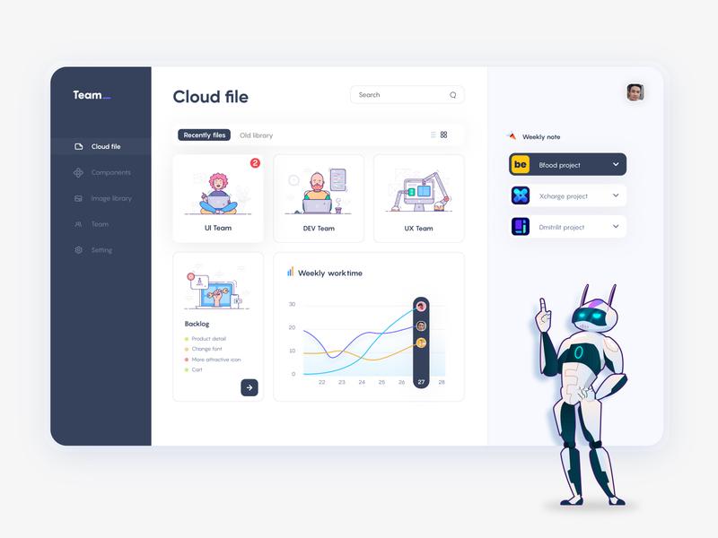 Team work mascot art icon design web illustration ui