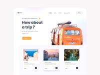 Tour booking web branding e commerce design web app ui