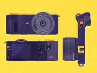 Sigma DP2 Quattro Camera Illustration