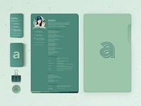 The A Project Branding