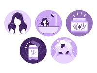 Lavender Icons