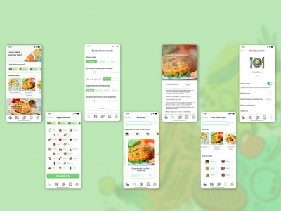 Cooking App Concept kitchen food app food design cook learning cook recipe cook book app cooking green ios ux ui