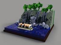 Jungle Cruise - Elephant Pool