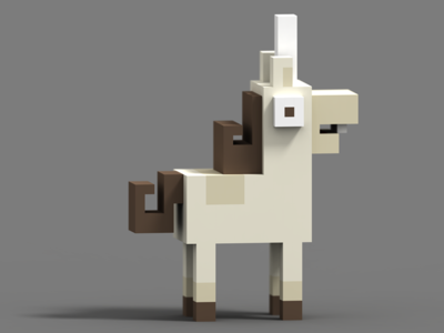 Unihorse from Crossy Road