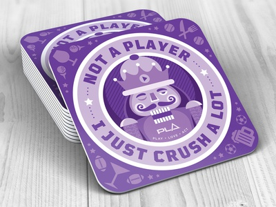 Crush A Lot Coaster
