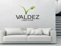 Valdez Lawn Care Logo