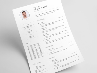 Microsoft Word Cover Letter Template from cdn.dribbble.com