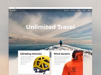 Upnorth website