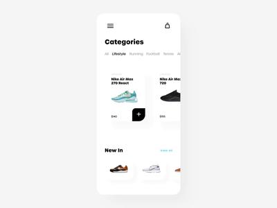 Sneakers Mobile App