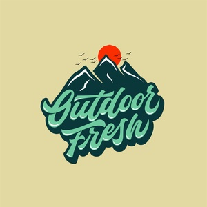 Outdoor fresh logo concept