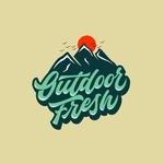Outdoor fresh logo concept