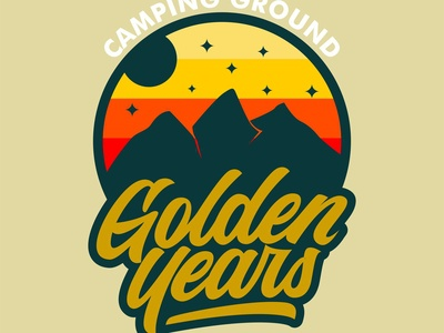 Golden Years logo concept