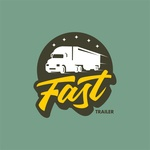 Fast trailer logo