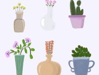 花瓶里的鲜花