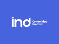 ind   comunidad creativa logo