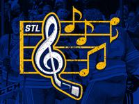 Stl Blues Graphic Mockup