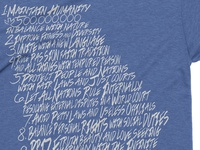 Detail state of Georgia Guidestone shirt
