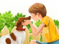 """YOU ARE MY BEST FRIEND"" Child & Dog Friendship 👦🏼🐶"
