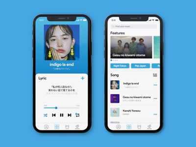 Music media player