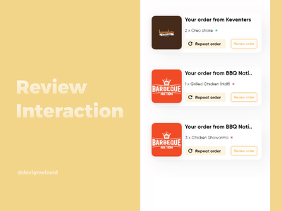 Review Interaction shots ui interaction ui design product design minimal design animation