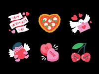 Messenger: Valentine's Day Camera Stickers